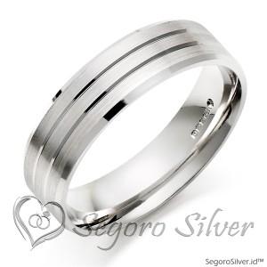 Cincin Perak Original Cincin Tunangan 950