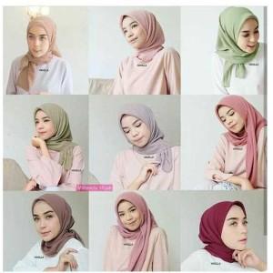 Hijab segiempat/Jilbab/kerudung Bella Square VALENCIA