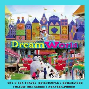 DREAM WORLD BANGKOK + 4D ADVENTURE + SNOWTOWN