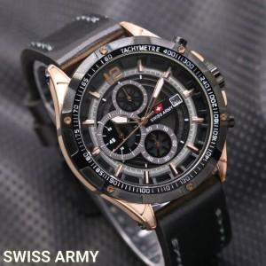 Jam Tangan Pria Swiss-Army-Dino-BlackGold