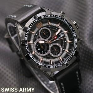 Jam Tangan Pria Swiss-Army-Dino-FullBlack