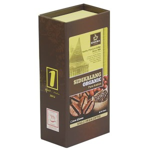 SEVEN BIKA COFFEE SIDIKALANG PURE ARABIKA BOX 200 gr (BUBUK/BIJI)