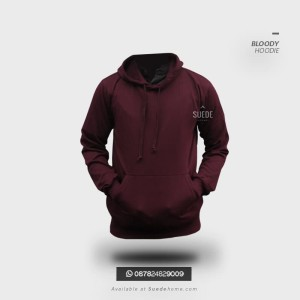 Sweater Hoodie Pria Wanita Lembut High Quality Soft Fleece Kupluk