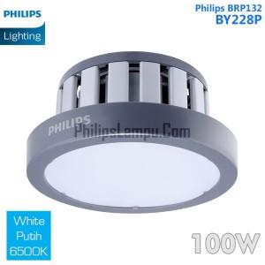 Lampu High Bay LED PHILIPS 100W Highbay BY228P 100 Watt Putih