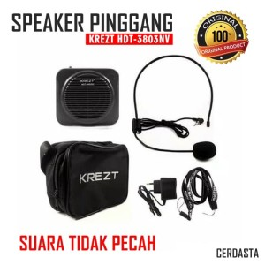 CERDASTA Speaker Pinggang KREZT HDT-3803NV Headset Microphones