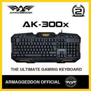Gaming Keyboard With spill-proof Design Combo AK300x