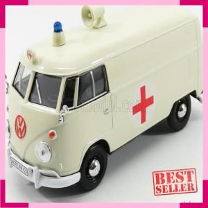 Volkswagen Type 2 >> Figure Motormax 1 24 Volkswagen Type 2 T1 Bus Ambulance Beige