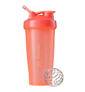 Classic Shaker Fitness| Botol | Gym | Olahraga Coral 28Oz