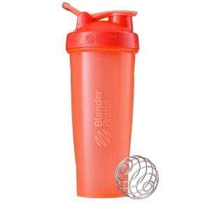 Classic Shaker Fitness| Botol | Gym | Olahraga Coral 32Oz