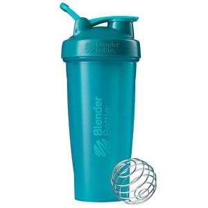 Classic Shaker Fitness| Botol | Gym | Olahraga Teal 28Oz