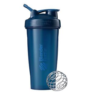 Classic Shaker Fitness| Botol | Gym | Olahraga Navy 32Oz