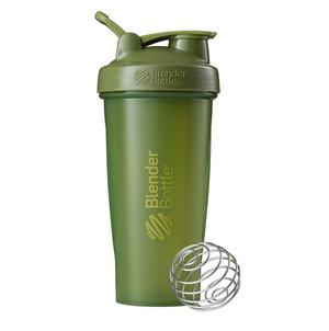 Classic Shaker Fitness| Botol | Gym | Olahraga Moss Green 28Oz