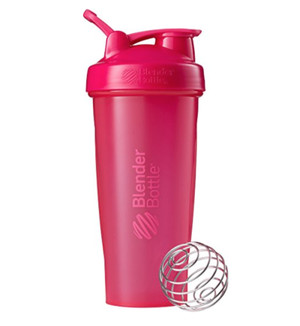 Classic Shaker Fitness| Botol | Gym | Olahraga Pebble Pink 28Oz