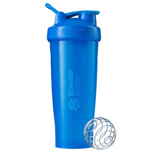 Classic Shaker Fitness| Botol | Gym | Olahraga Cyan 32Oz