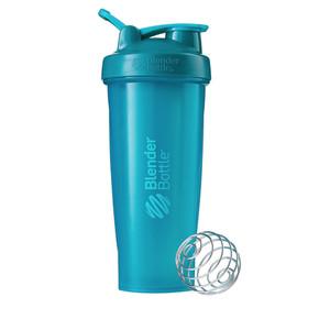 Classic Shaker Fitness| Botol | Gym | Olahraga Teal 32Oz