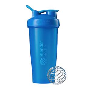 Classic Shaker Fitness| Botol | Gym | Olahraga Cyan 28Oz