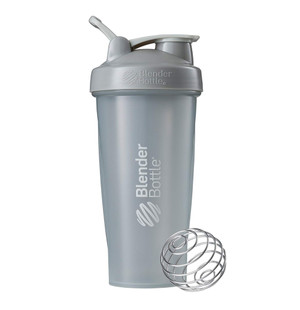 Classic Shaker Fitness| Botol | Gym | Olahraga Pebble Grey 28Oz