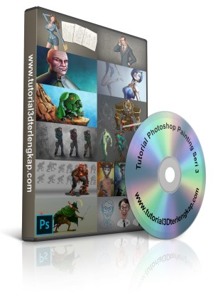 Video Tutorial Mastering Adobe Photoshop Digital Painting Seri 3