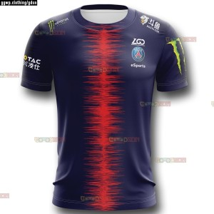 JERSEY KAOS BAJU TEAM GAMING DOTA2 CSGO ML AOV PSG LGD ESPORT 2019