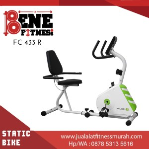 FC 433R recumbent terapi sepeda statis / alat fitness / olahraga