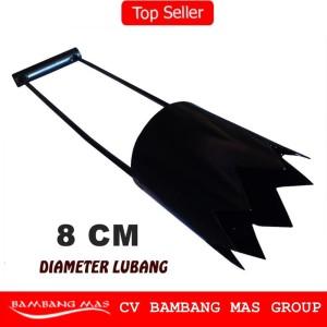 pelubang plastik mulsa diameter 8 cm