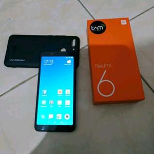 Xiaomi Redmi 6 3/32 TAM like new seminggu