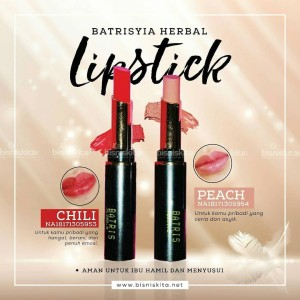 Lipstick Glossy Batrisyia/Lipstick Batrisyia/Lipstick Herbal with VCO