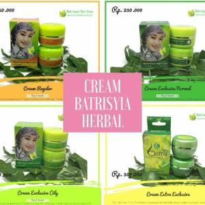Cream Batrisyia Herbal Skincare/Cream u/ Jerawat-Normal-Flek-Sensitif