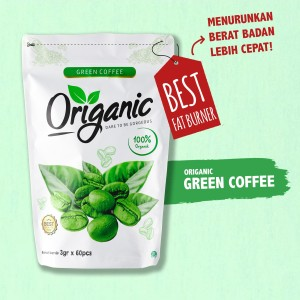 [1 Pack] Origanic Green Coffee