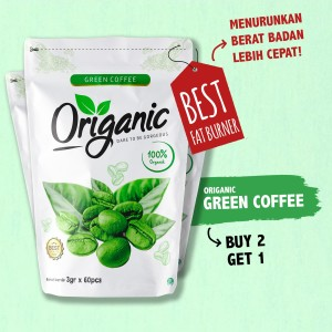 [BUY 2 GET 1 PACK] Origanic Green Coffee