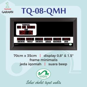 JAM DIGITAL MASJID TQ 08 QMH