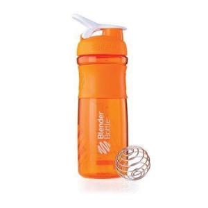 Blender Bottle SportMixer Shaker | Botol Orange / White