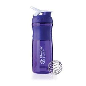 Blender Bottle SportMixer Shaker | Botol Purple/White