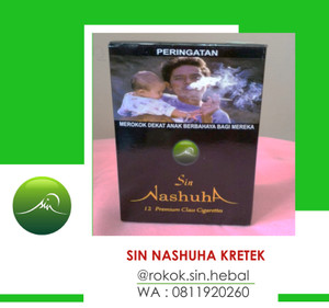 Rokok Herbal SIN Nashuha