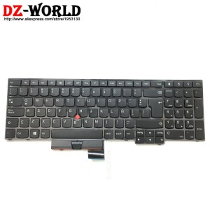 Original New For Lenovo IBM ThinkPad x270 UK Black Keyboard