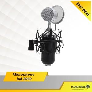 Plugandpay - Microphone Condenser Recording Studio Mic BM8000 BM 8000
