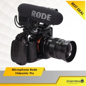 Microphone Rode Videomic Pro With Rycote Lyre Suspension Mount