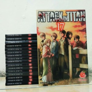 attack on titan 17vol by. hajime isayama - ongoing