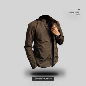 Jaket Parasut Army Resmi Adem Basic Suit