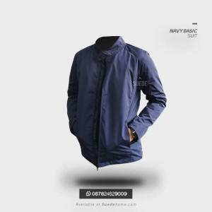 Jaket Parasut Navy Kantor Resmi Basic Suit Adem