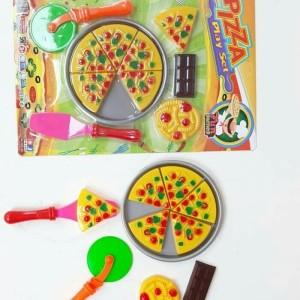 Mainan Pizza Play Set