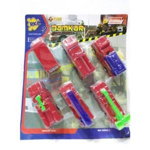 Mainan Mobil Damkar Isi 6