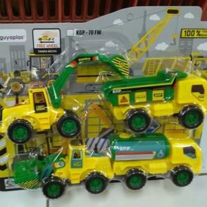 Mainan Mobil Kontruksi Isi 4