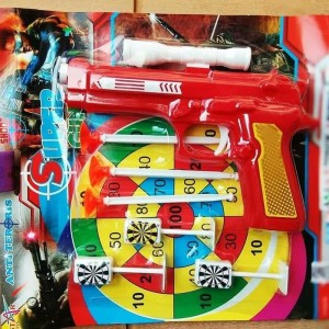 Mainan Tembakan Super Gun Target