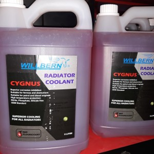 WILLBERN RADIATOR COOLANT