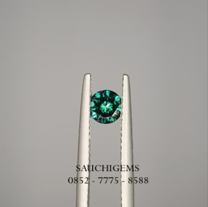 SG-023 BRILLIANCE SPARKLING 0.40CT NATURAL BLUE DIAMOND + CERTI