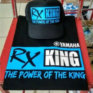 Yamaha Rx King 135cc Set Topi Kaos Premium Quality