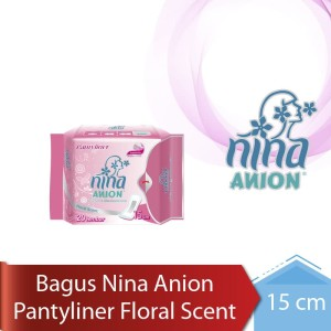 Bagus Nina Anion Pantyliner Floral Scent 15 cm 20's