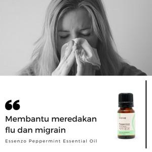 Peppermint Essential Oil - 10mL Membantu Meredakan FLU dan MIGRAIN