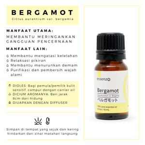 Bergamot Essential Oil - 10mL Membantu Meringankan Gangguan Pencernaan